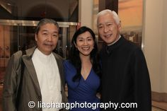 Yang Chihung, Dr. Agnes Hsu Tang and her husband Oscar Tang at the New-York Historical Society in New York on October 2, 2014. Photo by Lia Chang