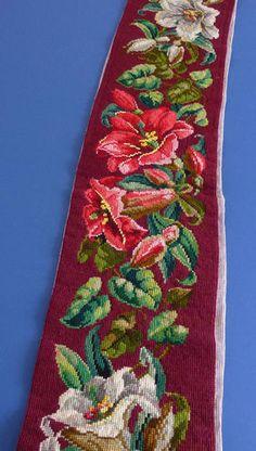 Gallery.ru / Фото #138 - СОЗЕРЦАЕМ КРАСОТУ-73 - GAVRUCHA Floral Tie, Needlepoint, Needlework, Cross Stitch, Flowers, Pattern, Stitches, Decor, Cross Stitch Embroidery