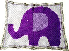crochet baby blanket pattern, car seat blanket, baby blanket pattern, crochet blanket pattern, pram blanket, blanket pdf, elephant blanket
