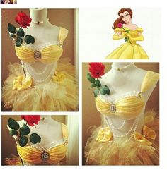 Belle rave costumes