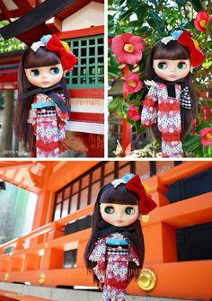 NEO Blythe Lady Camellia Doll BOX SET Takara Tomy | eBay