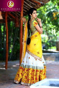 Indian Bridal Lehenga, Indian Beauty Saree, Indian Sarees, Indian Bollywood, South Indian Actress Hot, South Indian Bride, Beautiful Indian Actress, Indian Dress Up, Indian Wear