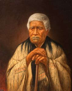 Mere Kuru Te Kati of Ngāti Tamatera has been written into history as a determined woman but in contemporary terms she would be today described as an environmental activist. Maori Legends, Maori Words, Nz History, Polynesian People, Maori People, Popular Paintings, Maori Art, Bone Carving, Portrait Art