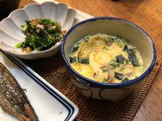 【激ウマ♡茶わん蒸し】「お吸い物の素」と「卵」と「水」をレンチンするだけで完成! | 栄養士ママそっち~の簡単美味しいサイクル献立 Asian Recipes, Ethnic Recipes, Asian Foods, Japanese Food, Cheeseburger Chowder, Side Dishes, Soup, Cooking, Meals