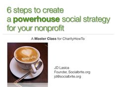 social media strategy for non-profits, curated by www.sociallybuzzing.com