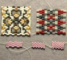 Beaded Jewelry Pin by Gamze Aybirdi on takı Peyote Stitch Patterns, Beading Patterns Free, Beaded Jewelry Patterns, Beading Tutorials, Tutorial Punto Peyote, Bead Loom Bracelets, Native Beadwork, Peyote Beading, Seed Beads