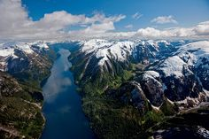 British Columbia, Canada. The Great Bear Rainforest is the name given by environmental groups in the 1990s to the region. For more: http://www.nature.org/ourinitiatives/regions/northamerica/canada/placesweprotect/great-bear-rainforest.xml