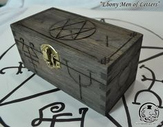 "Supernatural Inspired  ""Ebony Men of Letters"" Curse Box"