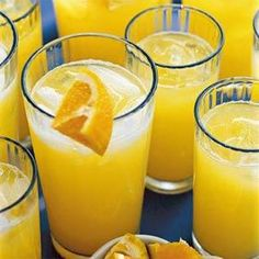 Pump up the flavor of lemon-lime soda with thawed orange juice concentrate. Serve over ice for a fizzy beverage packed with citrus tang.