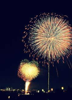 Love watching fire works <3
