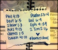 scriptures to pray over homeschool days (not always the ones you'd think of)