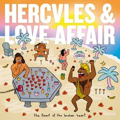 Listen to Hercules & Love Affair's new album, The Feast Of The Broken Heart, which features the singles I Try To Talk To You (feat. John Grant) & Do You Feel The Same? on http://Letsloop.com/artist/hercules-and-love-affair #Music #NowPlaying