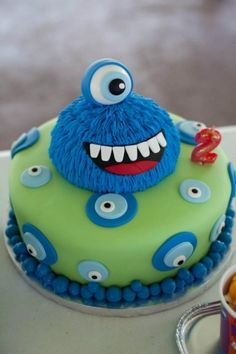 Monster Birthday By MadKat on CakeCentral.com
