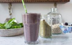 Deliciously Ella's easy banana and oat breakfast smoothie recipe. The best ever Nutribullet breakfast smoothie recipes - Telegraph Ninja Smoothie Recipes, Breakfast Smoothie Recipes, Yummy Smoothies, Ninja Recipes, Green Smoothies, Vegan Breakfast, Deliciously Ella Breakfast, Hemp Seed Recipes, Oat Smoothie