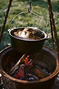 Gypsy Fire Pit ☆ Cooking