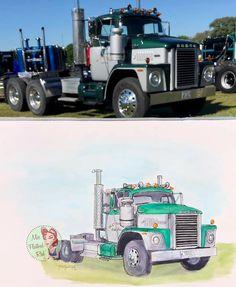 Truck Art, Trucks, Vehicles, Truck, Car, Vehicle, Tools