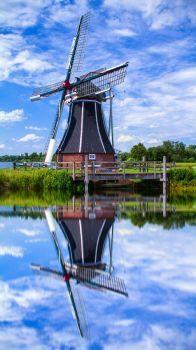 Dutch Icon, Kinderdijk, Netherlands