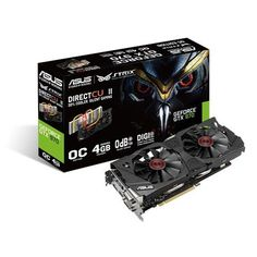 Asus NVIDIA GeForce GTX 970 4GB GDDR5 2DVI/HDMI/DisplayPort PCI-Express Video Ca
