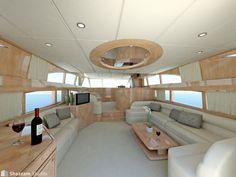 unique yacht interiors pictures | Yacht interior | shazzamstudios