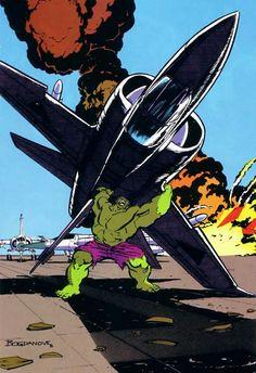 Hulk by Jon Bogdanove