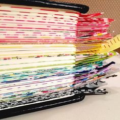 Washi-taped edges....first page of each book in my journaling Bible. ❤️Now to trim excess...and keep corners round.