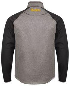 G-iii Sports Men s Pittsburgh Steelers Mountain Trail Player Lightweight  Jacket - Gray M 37c29c1c5