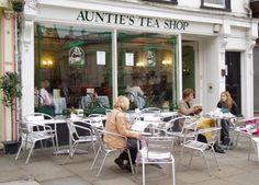 Auntie's Tea Shop, Cambridge, England..I've been here! April 2011!