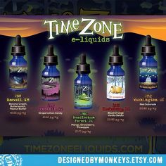 Time Zone e-liquids promotional postcard front #designedbymonkeys @time_zone_eliquids #clientwork  Man project has been fun. Full ground up branding of a UFO themed line of vape liquids including all the illustrations for the bottles. Each one is branded for a specific extraterrestrial encounter including the year and location.  #vapelife #vapeporn #vapelyfe #vapecommunity #vapefam #vapeon #vapestagram #vapehappy #vapelove #vapefamily #vapejuice #ecig #illustration #illustrationart…