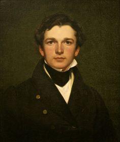 50e09dfe9460 William Sidney Mount, Self-Portrait (1832) Hudson River School, Portrait  Hommes