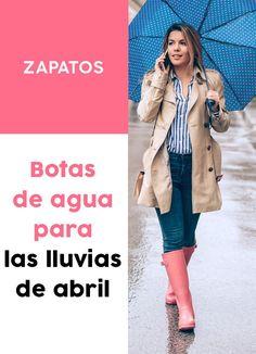 ¡Las mejores #botas de #agua para esta temporada! #accesorios #moda Chelsea, Outfit, Jackets, Shoes, Fashion, Rain Outfits, Waterproof Boots, Zapatos, Boots Style
