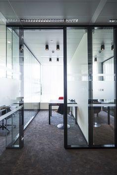 BACARDI BELGIUM #new headquarters DARK® #lighting #office #project at Vilvoorde BE [www.bacardi-martini.be] Office Lighting, Bacardi, Light Project, Lighting Solutions, Martini, Light In The Dark, Workplace, Belgium, Outdoor Decor