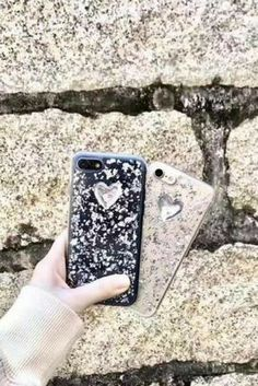 Cute heart iphone 6, iphone 6 plus, iphone 7 & iphone 7 plus protective case for teen girls.