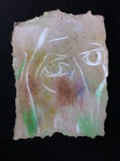 A expresividade do ollar de Man nos seus autorretratos pode producir inquietude ou tranquilidade, todo depende do espectador que o observe. Acudide o Museo do Alemán en Camelle e tede as vosas propias impresións. (Número de rexistro C.M.G. 02851)