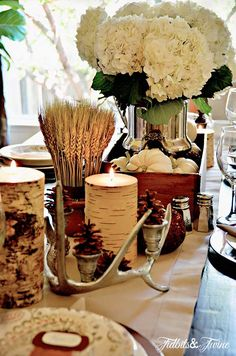 Creating a Fall Tablescape