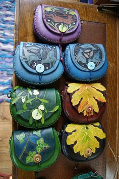 Swallowhead pixie purses available in a great range of colours and designs