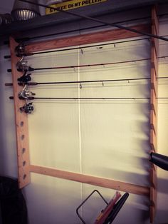Fishing pole holder made for my father in law today....