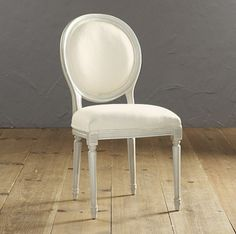 Oval Louis XVI Back Side Chair: http://www.stylemepretty.com/living/2015/03/03/ultimate-dining-chair-roundup/