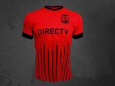Colo-Colo Third 16-17 Season Red Soccer Jersey [I855]