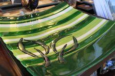 Spring! Platter by Karena Lawrence