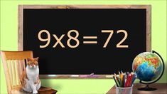 Multiplying by Multiplication flashcards. Second and third grade math. 4th Grade Math Worksheets, Third Grade Math, Math Activities, Math Multiplication, Sight Words, Spelling, Counting, Homeschooling, Cards