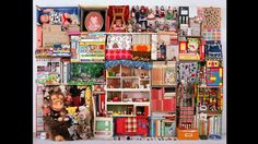 "On leaving London's Royal College of Art in 2004, Helga Steppan categorised all of her possessions by colour in a photographic series called See Through – All My Things. In this, My Imaginary Friend (1976-2010), the Swedish artist brought together her childhood belongings after they had been stored for 15 years, creating an installation ""of memories, nostalgia and materialism""."