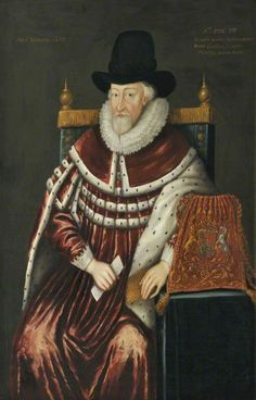 Sir Thomas Egerton (c.1540–1617), 1st Viscount Brackley - inscription has the year 1617 and the age of the sitter as 75