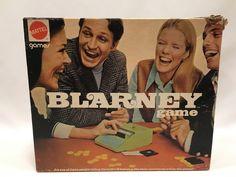 Blarney Game Mattel 1971 #5832 Missing Tokens #Mattel