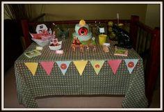 Barnyard Themed Birthday Party