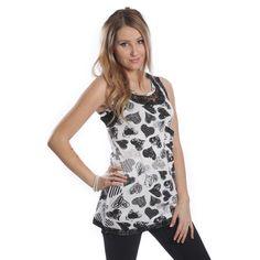 Amalie Top Ladies Innocent Lifestyle Women Goth New Rockabilly Fashion