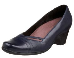 Clarks Sugar Sky in Navy #Clarks #shoes #Champaign #IL