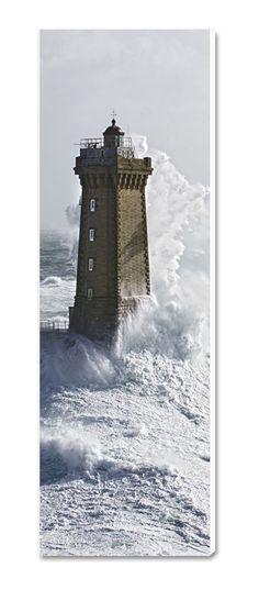 Photo sur toile Bretagne Phare de la Vieille - Raz de Sein - Finistère - Philip Plisson