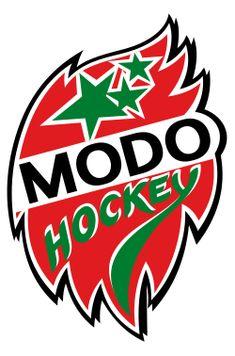 Modo Hockey Logo. Modo Hockey (or MODO with uppercase letters) is a professional ice hockey club in Örnsköldsvik, Sweden.