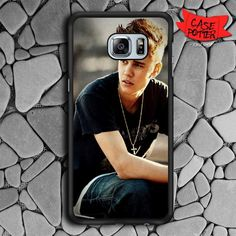 Justin Bieber Samsung Galaxy S6 Edge Black Case