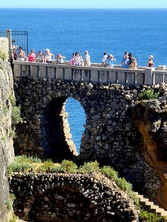 "Boca do Inferno, Cascais    The westmost part of Portugal that was known to the Romans as Promontorium Magnum and during the Age of Sail as the Rock of Lisbon. It was once described by Luís de Camões, a 16th century poet, describes the cliffs as ""where the land ends and the sea begins."" There is a beautiful light house on the cliffs that guided sailors home to safety"